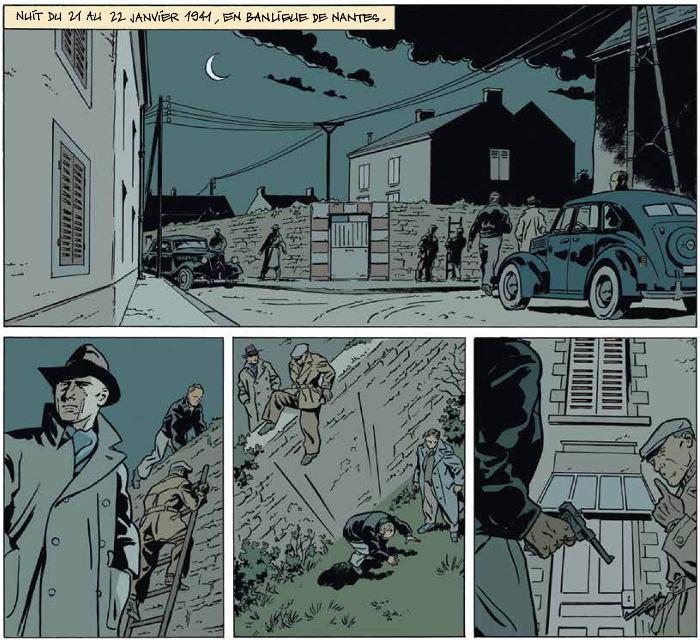 Extrait de la bande dessinée Honoré d'Estienne d'Orves