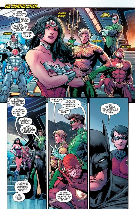 Extrait du comics Justice League Anthologie