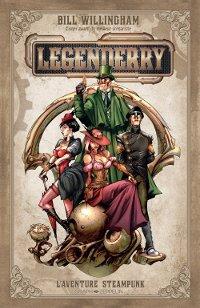 Couverture du comics Legenderry