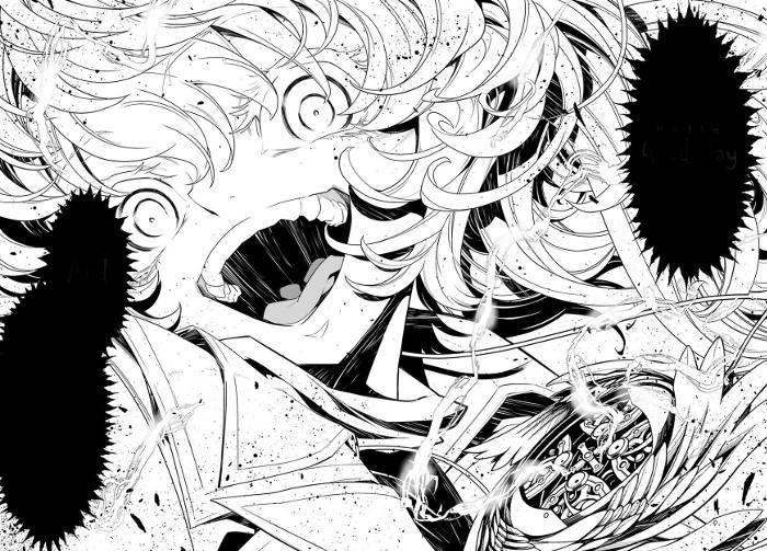 Extrait du manga Tanya the Evil