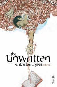 Couverture du comics The Unwritten tome 1