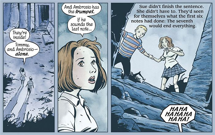Extrait du comics The Unwritten tome 1