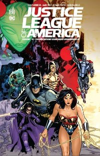 couverture du comics «Justice League of America, tome 4»