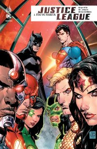 Couverture du comics Justice League tome 2