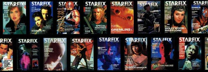 Couvertures du magazines Starfix
