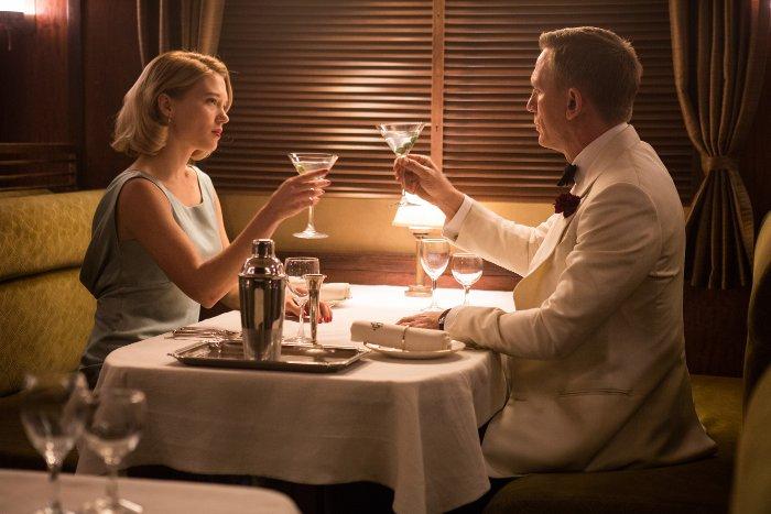 Daniel Craig et Léa Seydoux dans SPECTRE