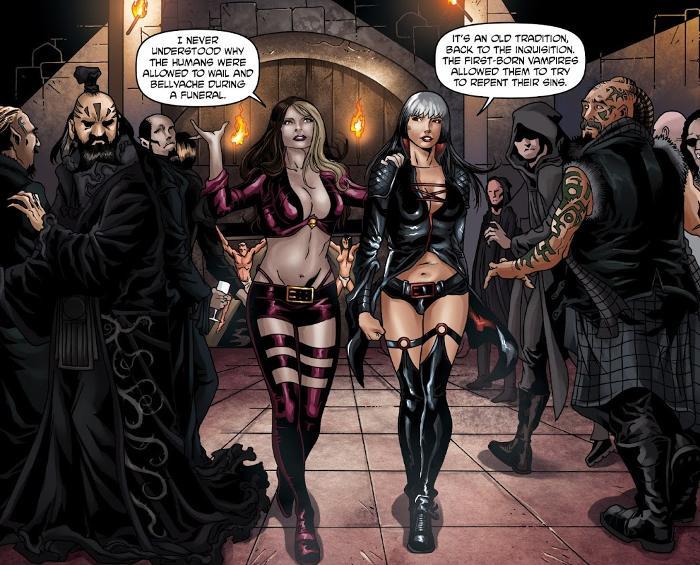 Extrait du comics Ravening – Les Voraces