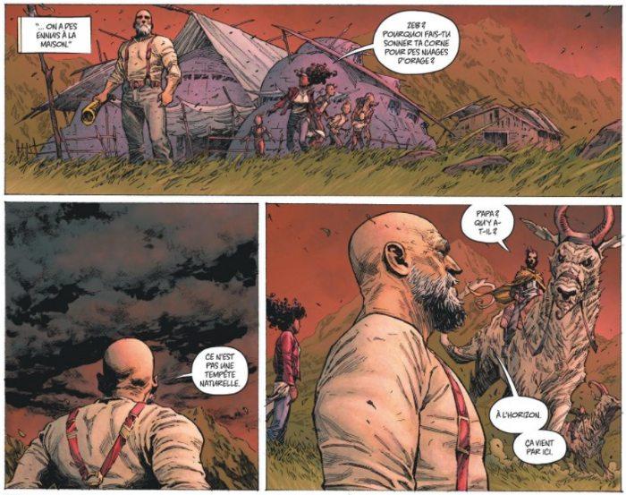 Extrait du comics Seven to Eternity tome 1