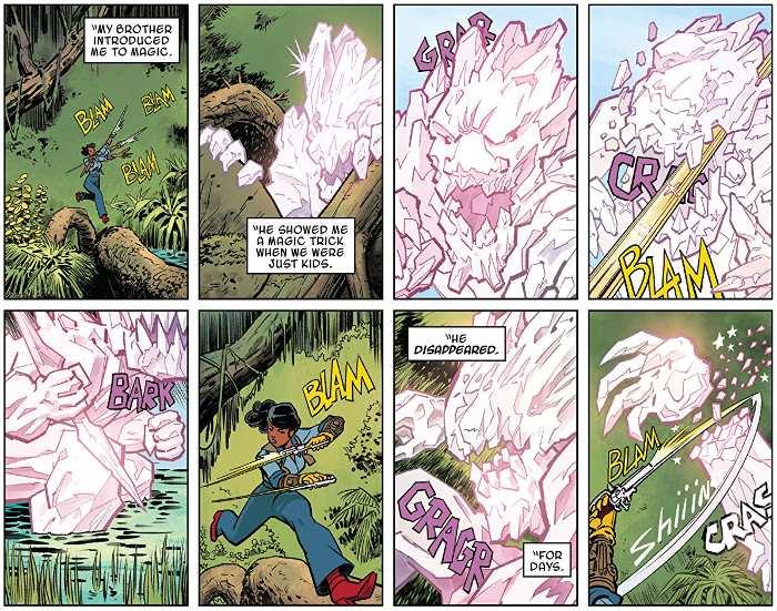 Extrait du comics Doctor Strange et les Sorciers suprêmes, tome 1