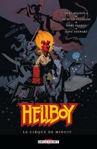 Couverture du comics Hellboy tome 16 Le cirque de minuit