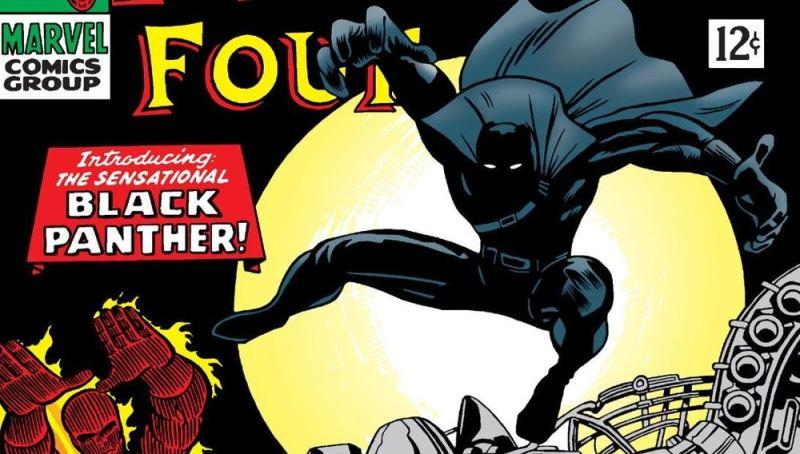 meilleurs costumes Black Panther Panthère Noire Jack Kirby Fantastic Four 52-53