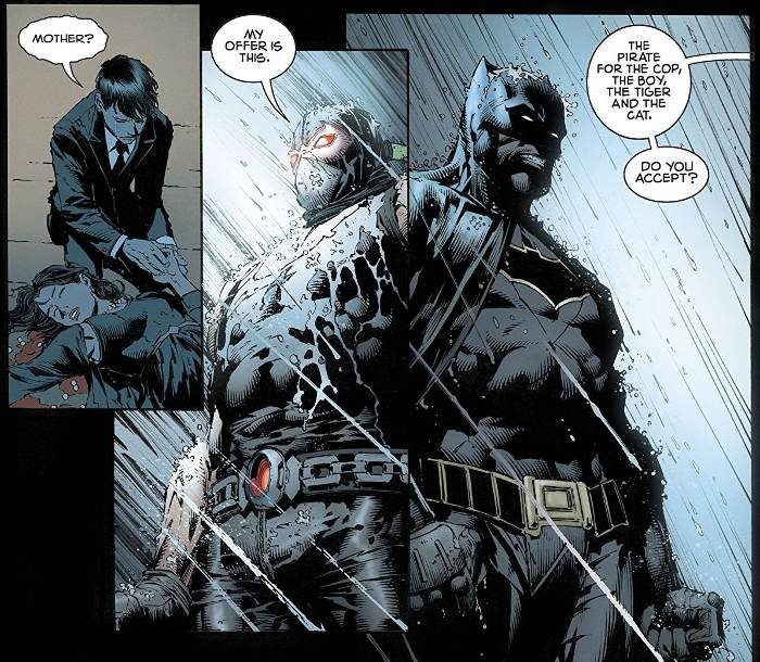 Extrait du comics Batman Rebirth tome 3