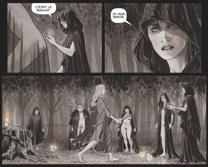 Extrait du comics Black Magick tome 1
