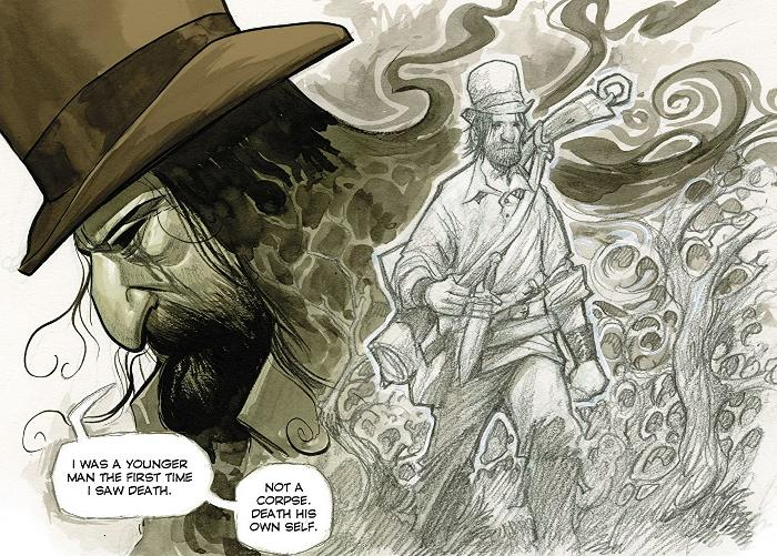 Extrait du comics Hillbilly tome 1