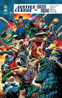 Couverture du comics Justice League VS Suicide Squad