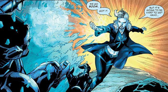 Extrait du comics Justice League VS Suicide Squad