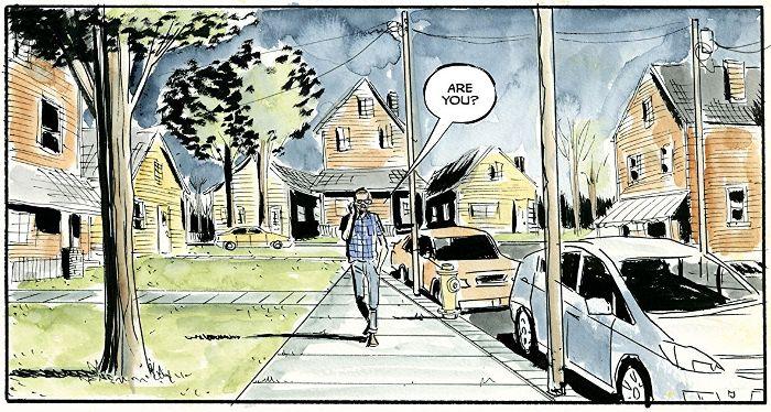 Extrait du comics Royal City