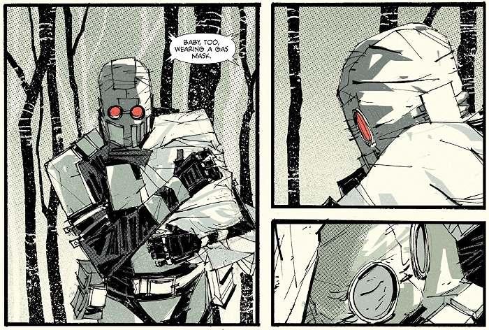 Extrait du comics The Few tome 1