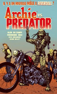 COuveture du comics Archie vs Predator