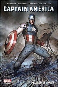 couverture du comics Captain America La Légende vivante