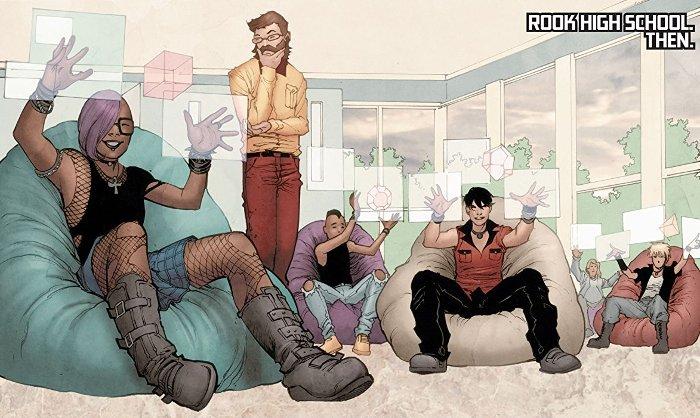Extrait du comics Génération Zéro