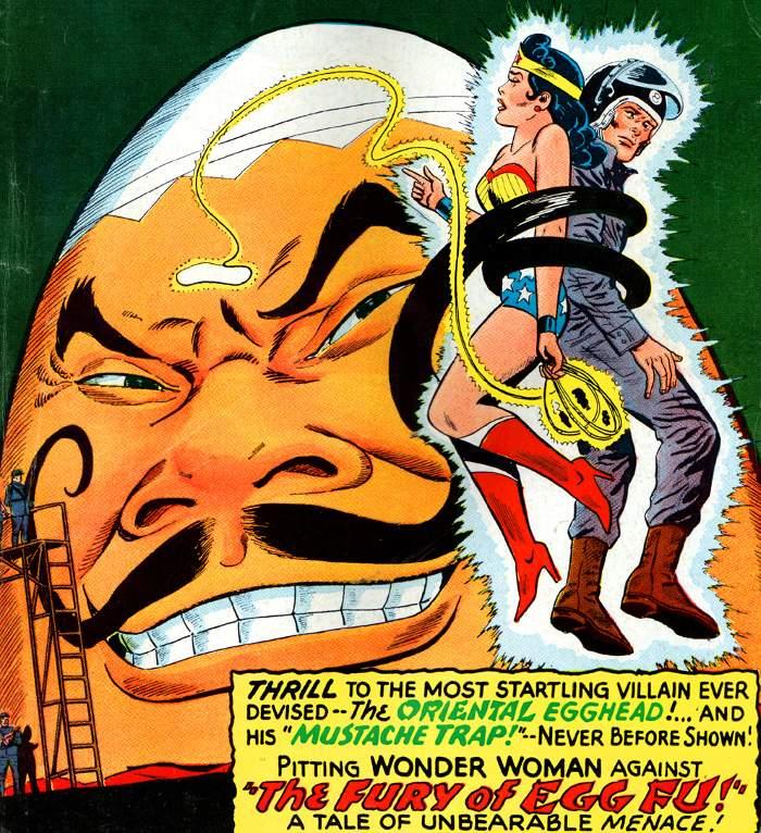 personnages de comics en forme d'oeuf Egg-Fu