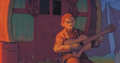 Django, la bande dessinée hommage au grand guitariste
