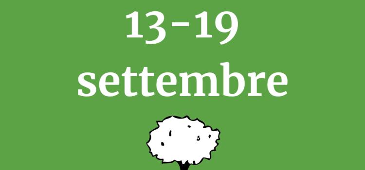 Orari in libreria dal 13 al 19 settembre