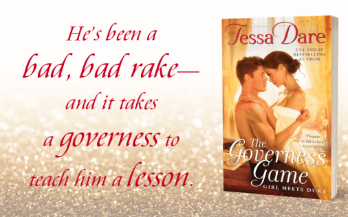 Promo Graphic 1 - The Governess Game by Tessa Dare