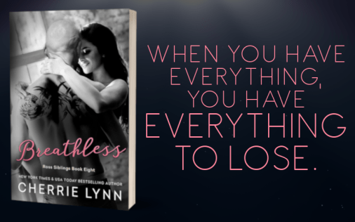 Promo Graphic - Breathless by Cherrie Lynn - 1