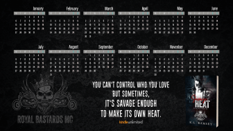 2020 Desktop Calendar - Royal Bastards MC Version 2