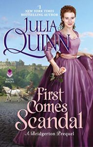 Book Cover: First Comes Scandal