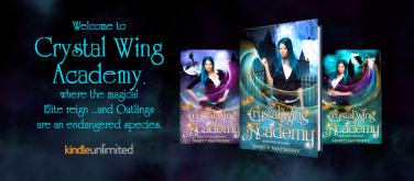 FB Fanpage and Profile Cover Photo - Crystal Wing Academy Series