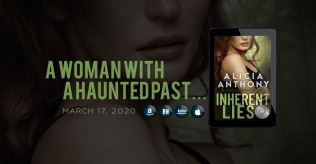 Facebook Group Cover Photo - Blood Secrets 2.0 - Inherent Lies by Alicia Anthony