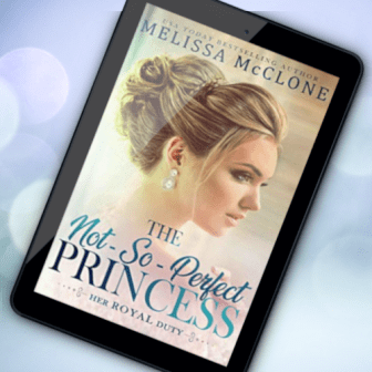 Promo Graphic - Her Royal Duty 2.0 - The Not-So-Perfect Princess by Melissa McClone - 2