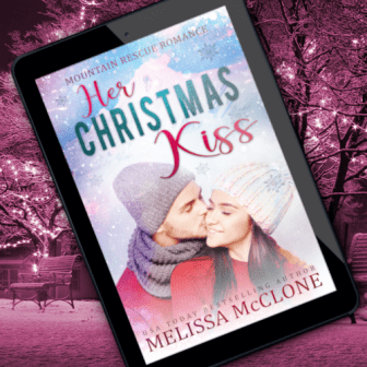 Promo Graphic - Mountain Rescue Romance 3.0 - Her Christmas Kiss by Melissa McClone - 2