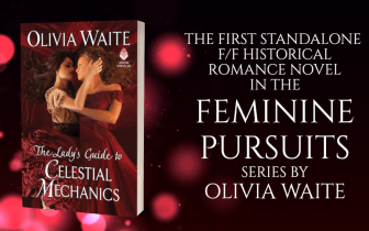 Promo Graphic - The Lady's Guide to Celestial Mechanics by Olivia Waite - 1
