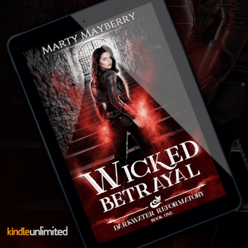 Promo Graphic - Wicked Betrayal by Marty Mayberry - 2