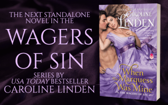 Promo Graphics - When the Marquess Was Mine by Caroline Linden - 1