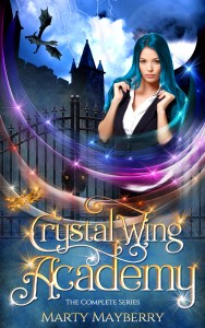 Book Cover: Crystal Wing Academy Ebook Bundle