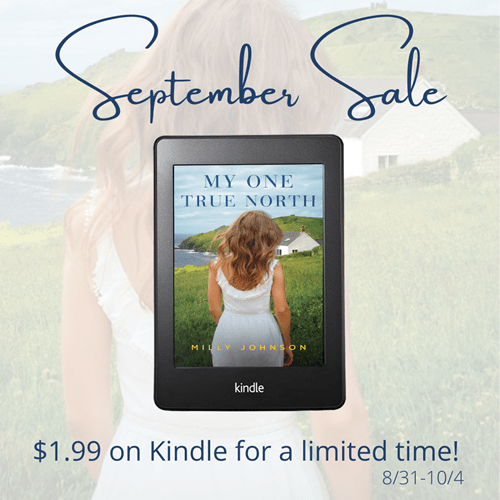 Ebook Deal Alert! Check out this excerpt from MY ONE TRUE NORTH by Milly Johnson – Just $1.99 For a Limited Time!