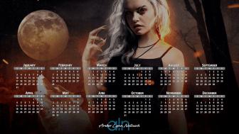 Swag Design - 2021 Digital Desktop Calendar - Amber Lynn Natusch - 6
