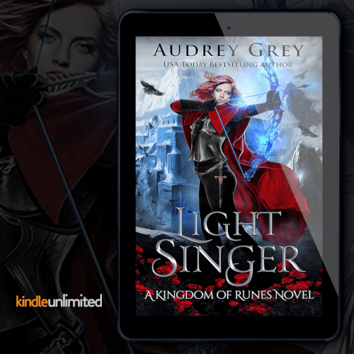 New Release! Check out this excerpt & giveaway from LIGHT SINGER by Audrey Grey!