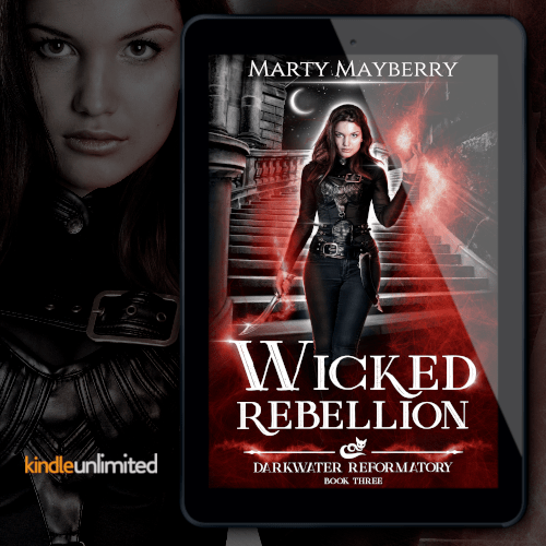 New Release! Check out this paperback giveaway from WICKED REBELLION by Marty Mayberry!