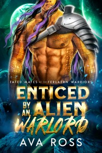 Book Cover: Enticed By an Alien Warlord
