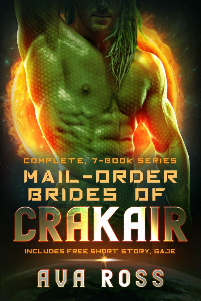 Book Cover: Mail Order Brides of Crakair Complete Series Boxed Set