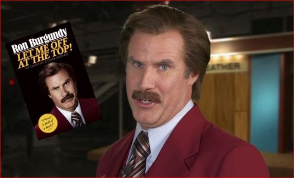 Ron Burgundy Book