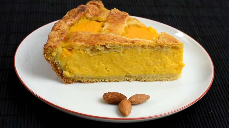 Squash and apples pie - Simple recipe