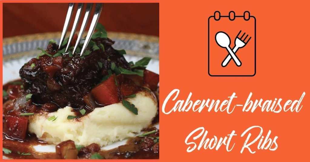 Cabernet-braised Short Ribs