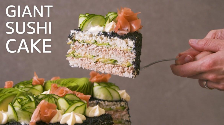 Giant Sushi Cake